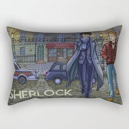 Sherlock fanart Rectangular Pillow