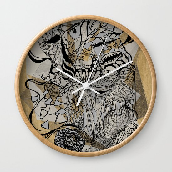 Life of Lines Wall Clock