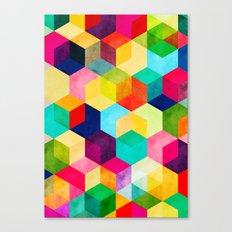 Hexa Canvas Print