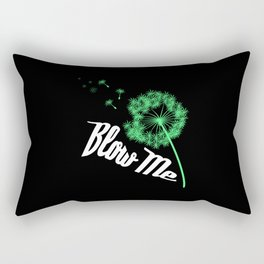 Blow Me Rectangular Pillow