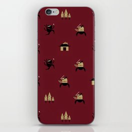 "Movie Patterns - ""Friday Martial Arts"" iPhone Skin"