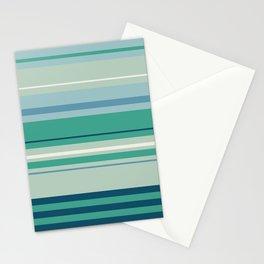 Adelaide Modern Horizon in Seafoam Green - Stationery Cards