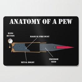 Anatomy Of A Pew Cutting Board