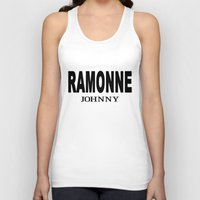 cassia beck Tank Tops featuring Beck: Koyuki's RAMONNE JOHNNY T-Shirt Concept by KeithKarloff