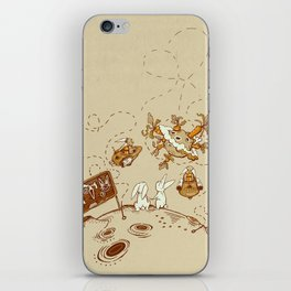 Three Step Plan iPhone Skin