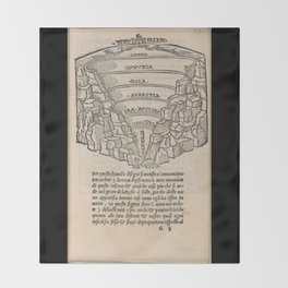Overview of Hell Throw Blanket