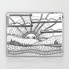 Voyage incertain (uncertain travel) Laptop & iPad Skin