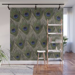 Peacock tail Wall Mural