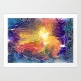 Cellular Art Print