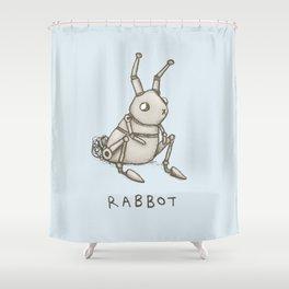 Rabbot Shower Curtain