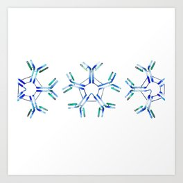 IgM Antibodies Art Print