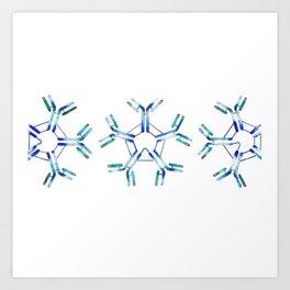 IgM Antibodies Art Print