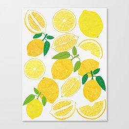 Lemon Harvest Leinwanddruck