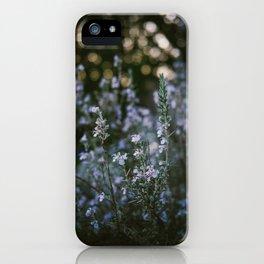 Spring Purple iPhone Case