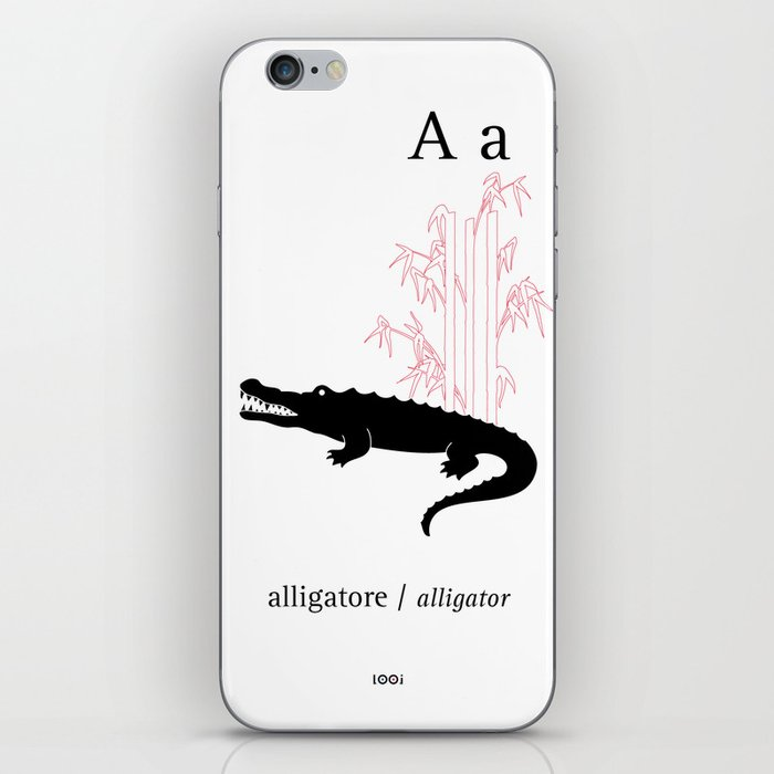 A/Alligator iPhone Skin