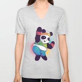 Fitness Panda Unisex V-Neck