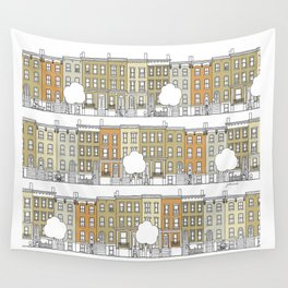 Brooklyn (color) Wall Tapestry