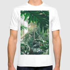 jungle White MEDIUM Mens Fitted Tee