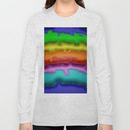 Softly damaged rainbow Long Sleeve T-shirt