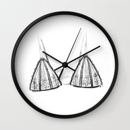 Something Delicate Wall Clock