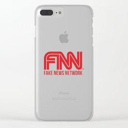 Fake News Network Clear iPhone Case