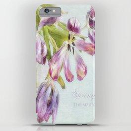 love tulips iPhone Case