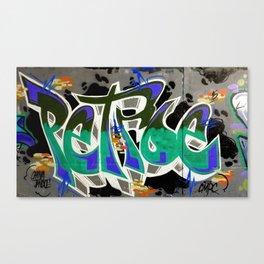 SDRV   Graffiti Canvas Print