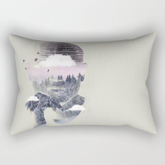 Contemplating Dome Rectangular Pillow