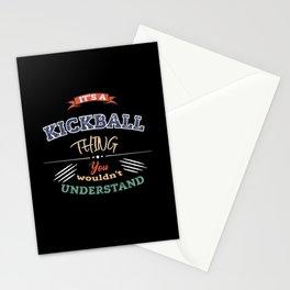 Its a KICKBALL thing KICKBALL Vintage Stationery Cards
