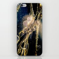 cracked iPhone & iPod Skins featuring Cracked by GrandmaStyleCo
