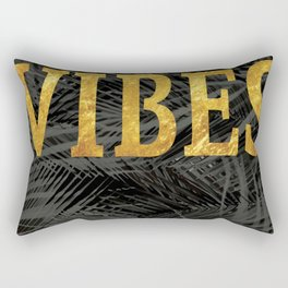 Good Vibes Rectangular Pillow