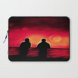Sunset Walk Laptop Sleeve
