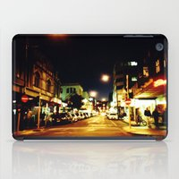 cuba iPad Cases featuring Cuba Street by Curious Yellow