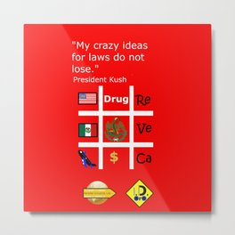 Crazy Ideas Metal Print