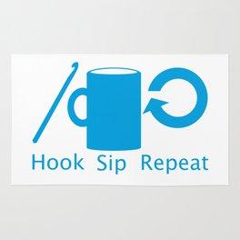 Hooks and Coffee Rug