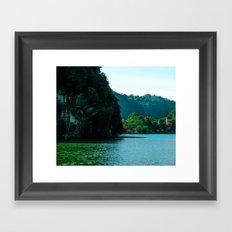 One Green Summer Left #society6 #prints  Framed Art Print