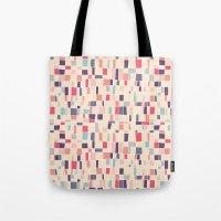 grid Tote Bags featuring grid by Marta Olga Klara