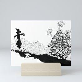 Howl no Ugoku Shiro Mini Art Print