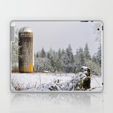 Remnants of a Simpler Time - The Silo Laptop & iPad Skin
