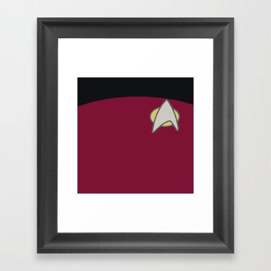 Star Trek: The Next Generation Framed Art Print