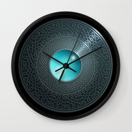 Shield Wall Clock