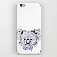 koala iPhone & iPod Skins featuring Koala by 13 Styx