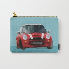 Red Mini Cooper S Polygon Art Carry-All Pouch