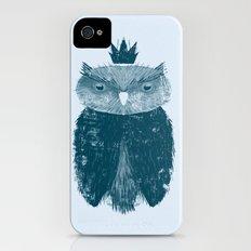 Owl King iPhone (4, 4s) Slim Case