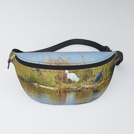 Egret And Herons Fanny Pack