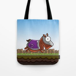 Joust It (Horsey) Tote Bag