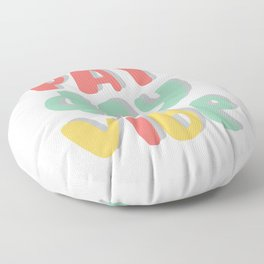 pay day vibe Floor Pillow