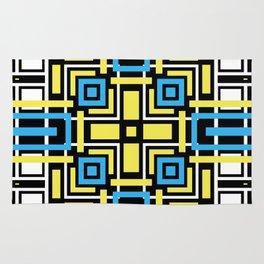 geometric art 3 Rug