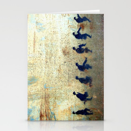 Ministry of Silly Walks Stationery Cards