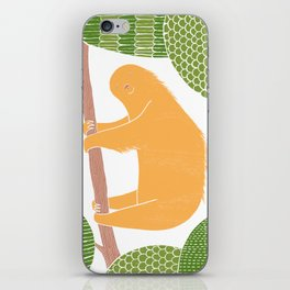 Sleepy Happy Sloth iPhone Skin
